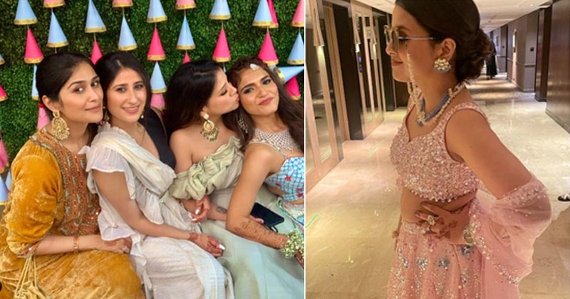 Sakshi Dhoni look Stunning In Pink Lehenga