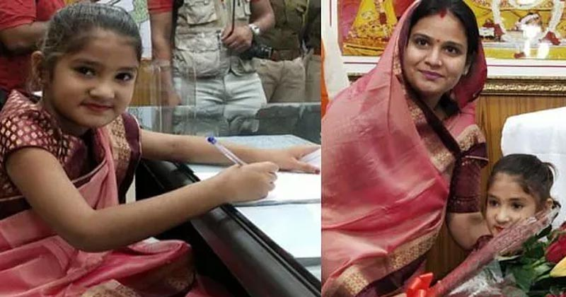 8 Year Old Girl Became Mayor For A Day