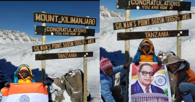 Asia's youngest Girl To Climb Mount Kilimanjaro