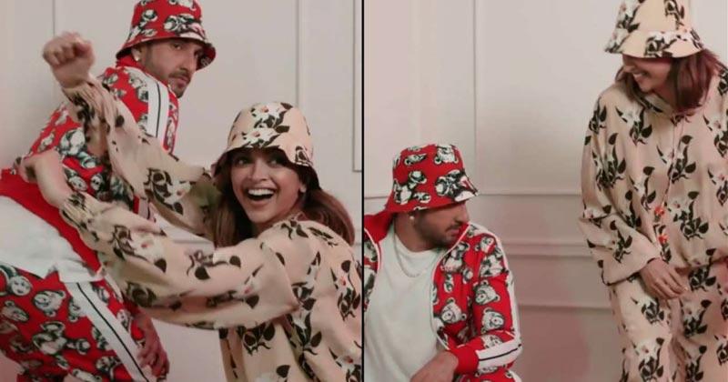 Deepika Padukone Shares Bussitchallenge Video