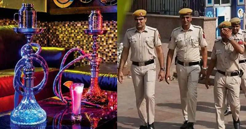 Delhi Police Seized Hookah