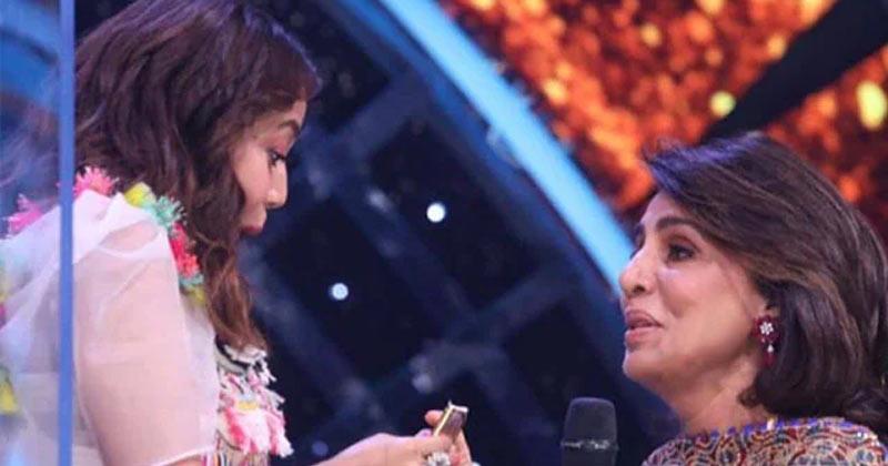 Neetu Kapoor Gives Shagun To Neha Kakkar