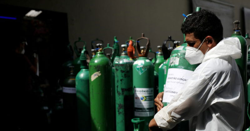Friend Drove From Bokaro To Noida With Oxygen Cylinder