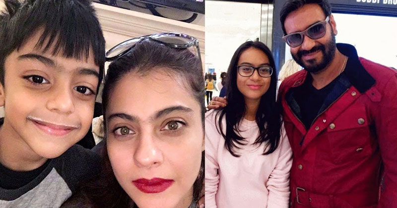 Ajay Devgan Shares Pic With Daughter Nysa Devgn