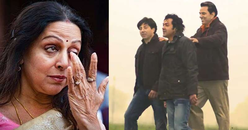 Hema Malini Speaks About Her Relationship With Sunny Bobby Deol
