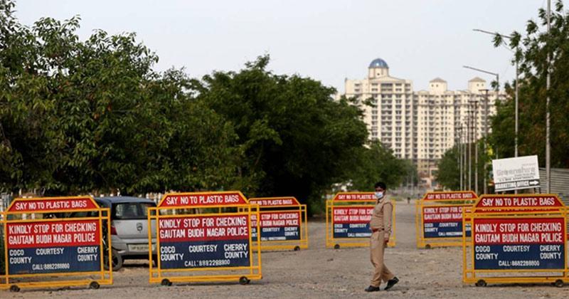 Night Curfew Imposed In Noida Ghaziabad