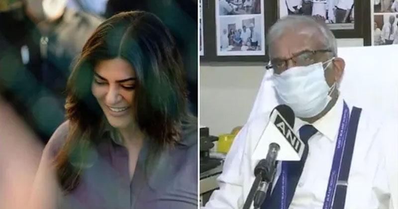Sushmita Sen On Oxygen Cylinder Shortage In Delhi Hospitals