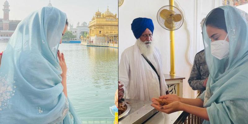 Kangana Ranaut visits Golden Temple in Amritsar