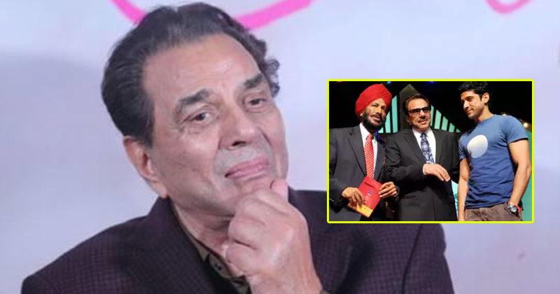 Actor Dharmendra Remembers Milkha Singh