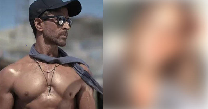 Hrithik Roshan Shares Shirtless Pic
