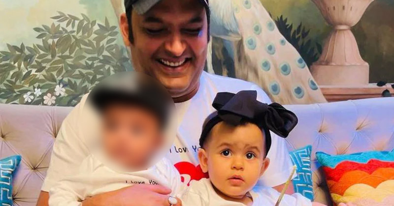 Kapil Sharma shares first pic of kids Trishaan