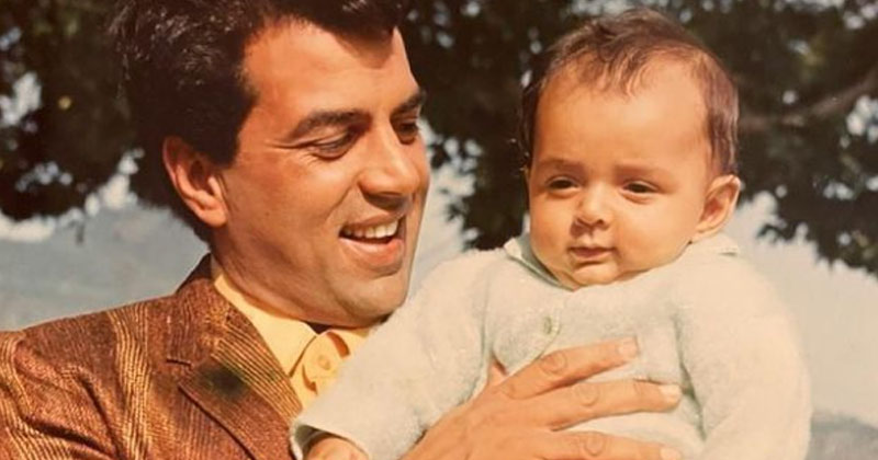 Esha shared a childhood photo, fans matched her face with Bobby Deol