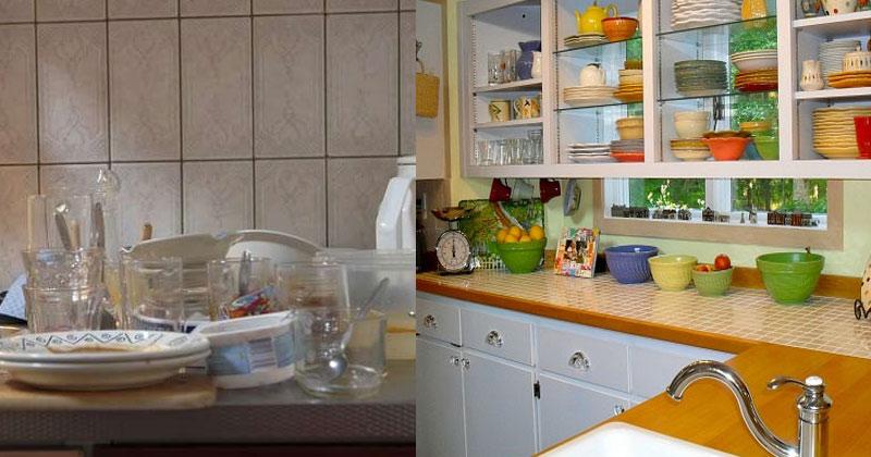 Kitchen Ka Saman Kaise Set Kare