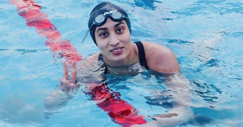 Indian Swimmer Maana Patel