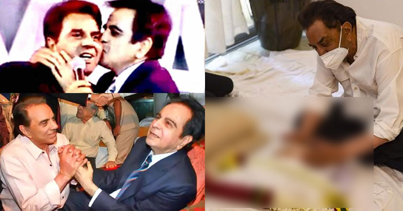 Dharmendra Emotional Tweet on Dilip Kumar's Death