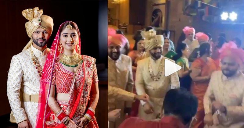 Rahul Vaidya Disha Parmar Marriage Photos Video