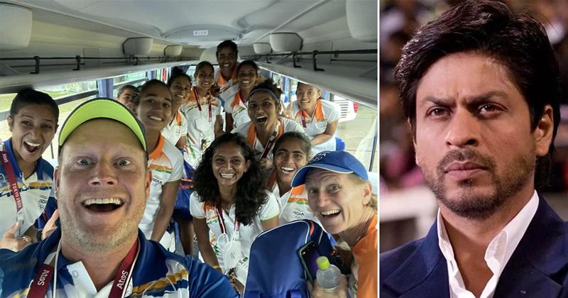 SRK Reacts To Coach Sjoerd Marijne Tweet