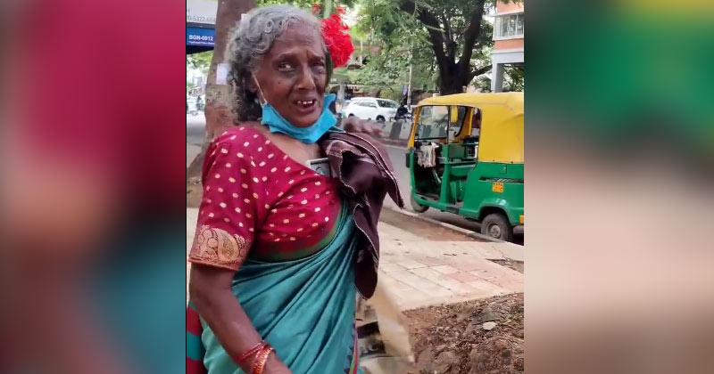 Ragpicker Woman Speaking Fluent English In Bengaluru Goes Viral