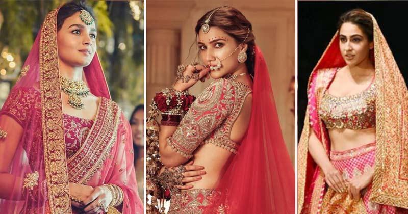 Bollywood Actress Viral Bridal Looks Kriti Sanon To Alia Bhatt