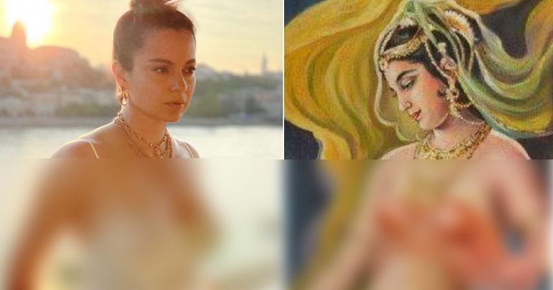 Kangana Ranaut Gave A Befitting Reply On Bralette Dress