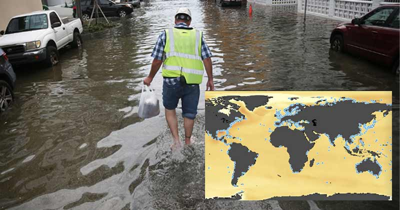 12 cities of India may covered in 3 feet of sea water