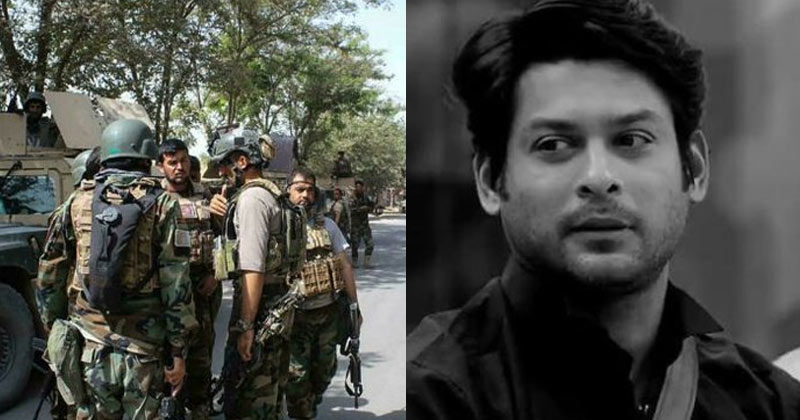 Sidharth Shukla gets trolled for his post on Afghanistan crisis