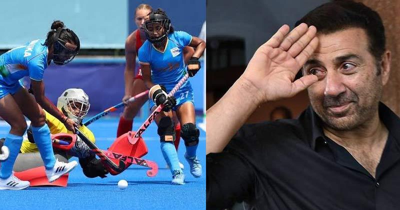 Sunny Deol Reaction On Indian Women Hockey Team
