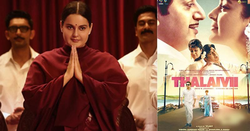 Kangana Ranaut's 'Thalaivii' to release on September 10