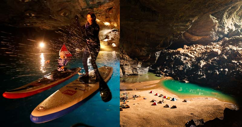 underground lakes in the world