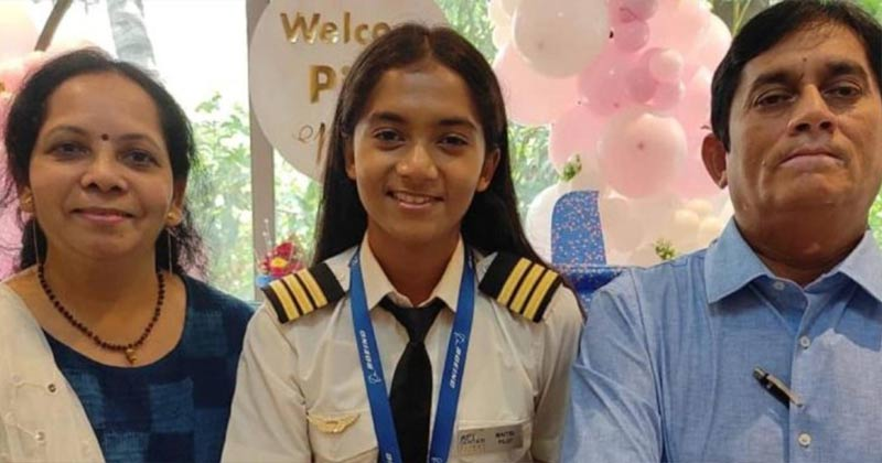 19-Year-Old Maitri Patel India's Youngest Commercial Pilot