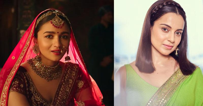 Kangana Ranaut lashes out at Alia Bhatt's bridal ad