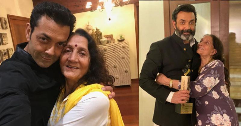 Bobby Deol wishes Mother Parkash Kaur