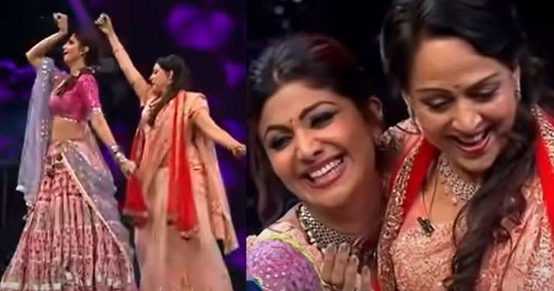 Hema Malini Dances On Dharmendra Song
