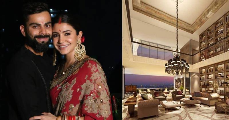 Anushka Sharma and Virat Kohli Apartment See Inside Photos