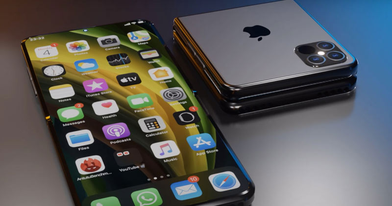 Apple Plans To Make iPhone Fold a foldable phone