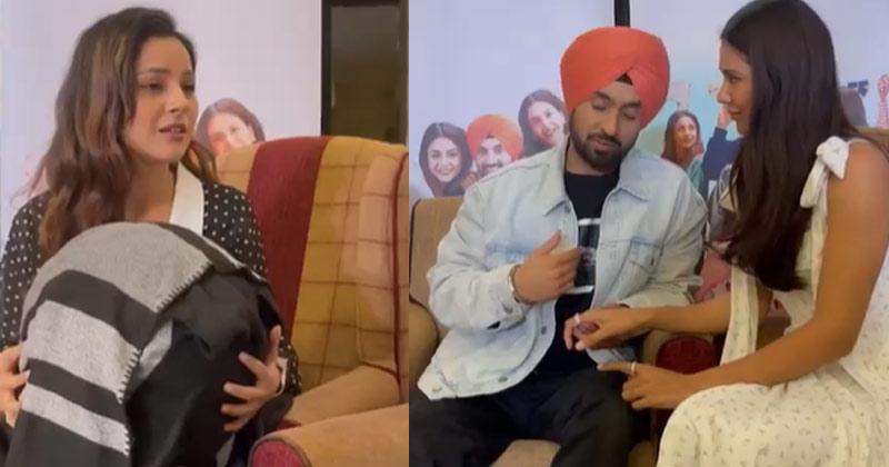 Shehnaaz Gill Back To Work With Diljit Dosanjh Honsla Rakh