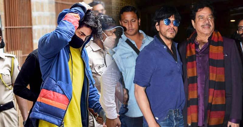 Shatrughan Sinha Statement On Aryan Khan Arrest Drugs Case